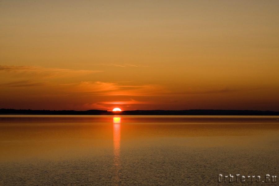 Озеро Нарочь. Рассвет