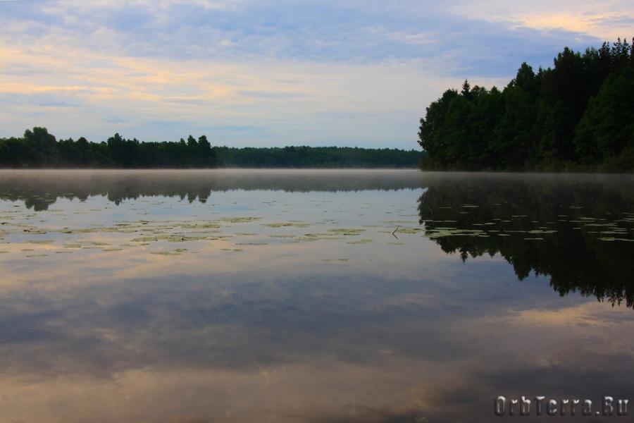 Утро. Озеро Золва