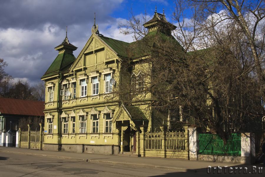 Старинные улочки Костромы.