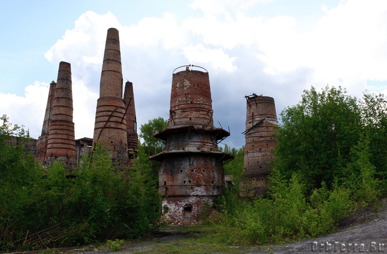 Руины мраморного завода.