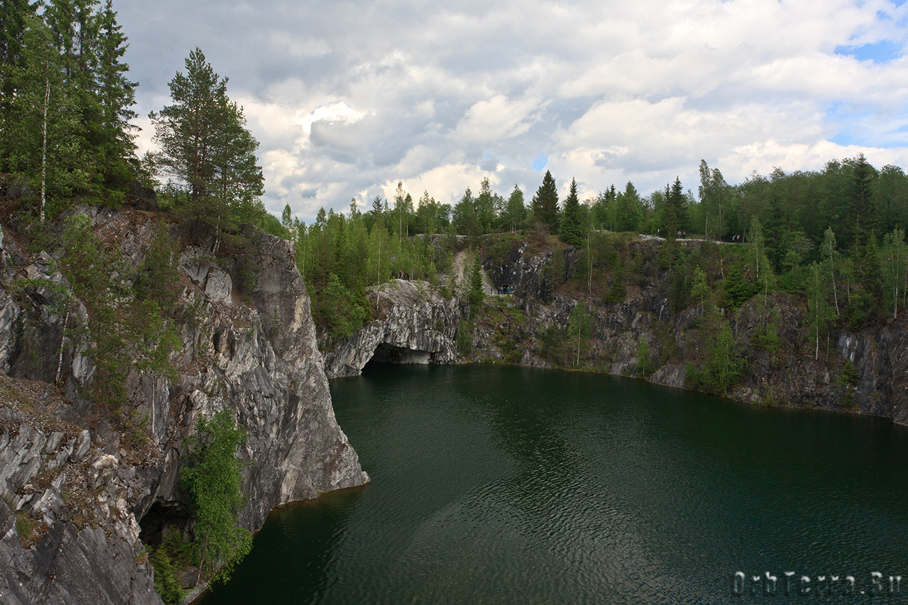 Северная часть каньона.
