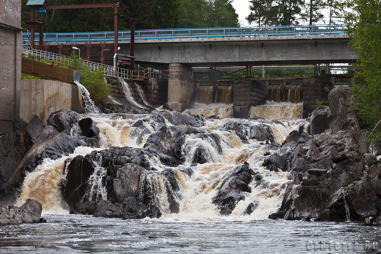 Водопад на реке Янисйоки.