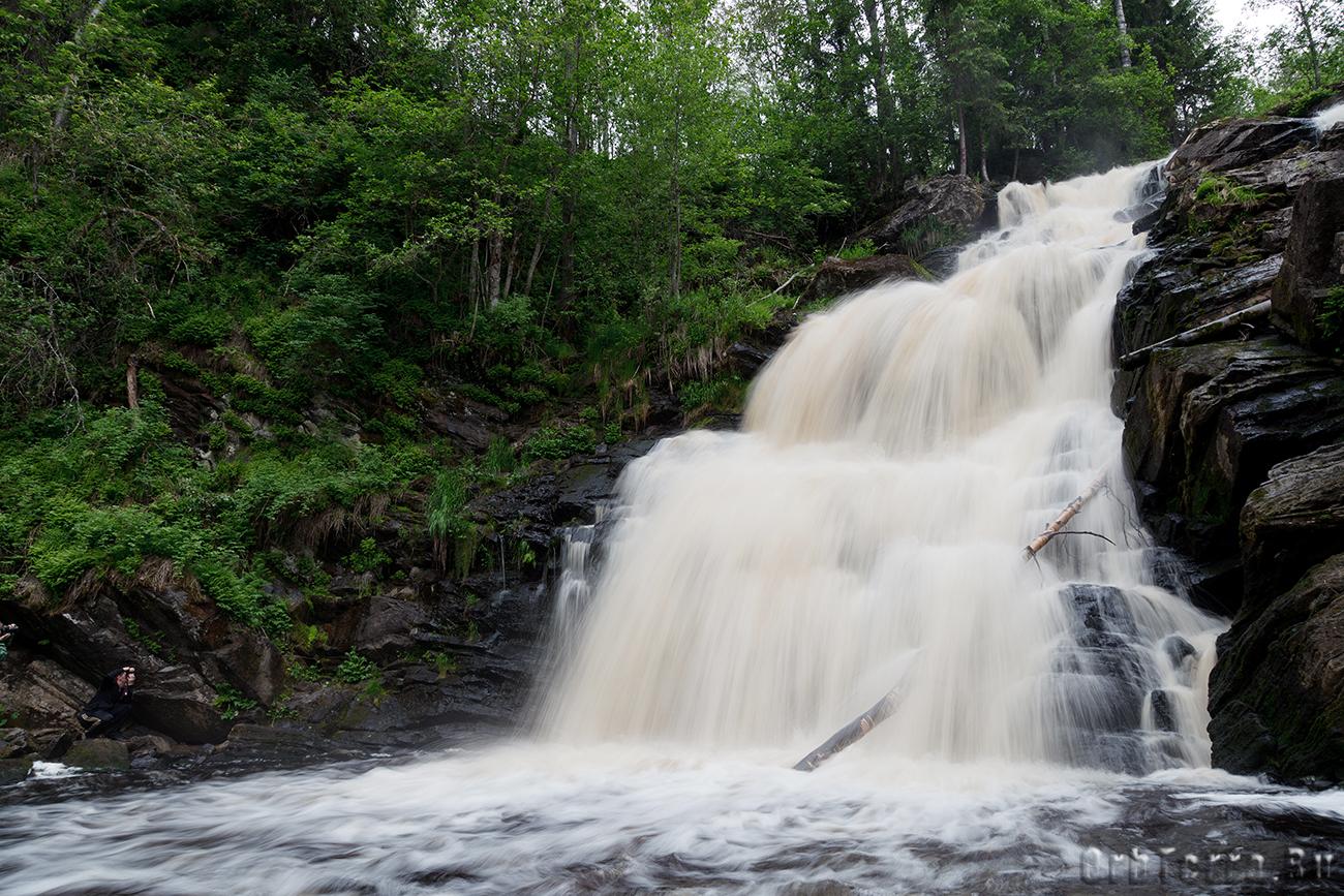 Водопад Юканкоски.