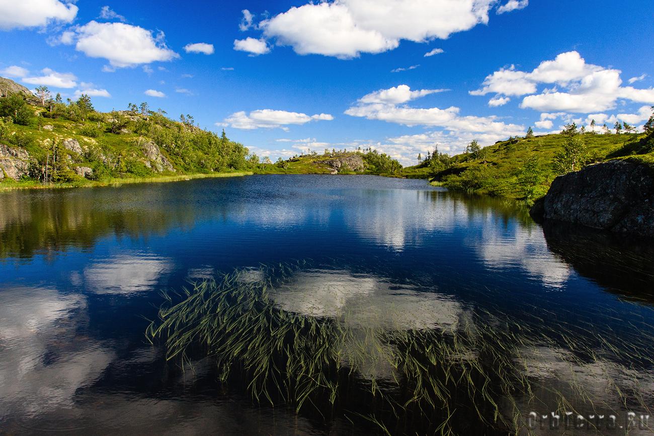 Верховое озеро.