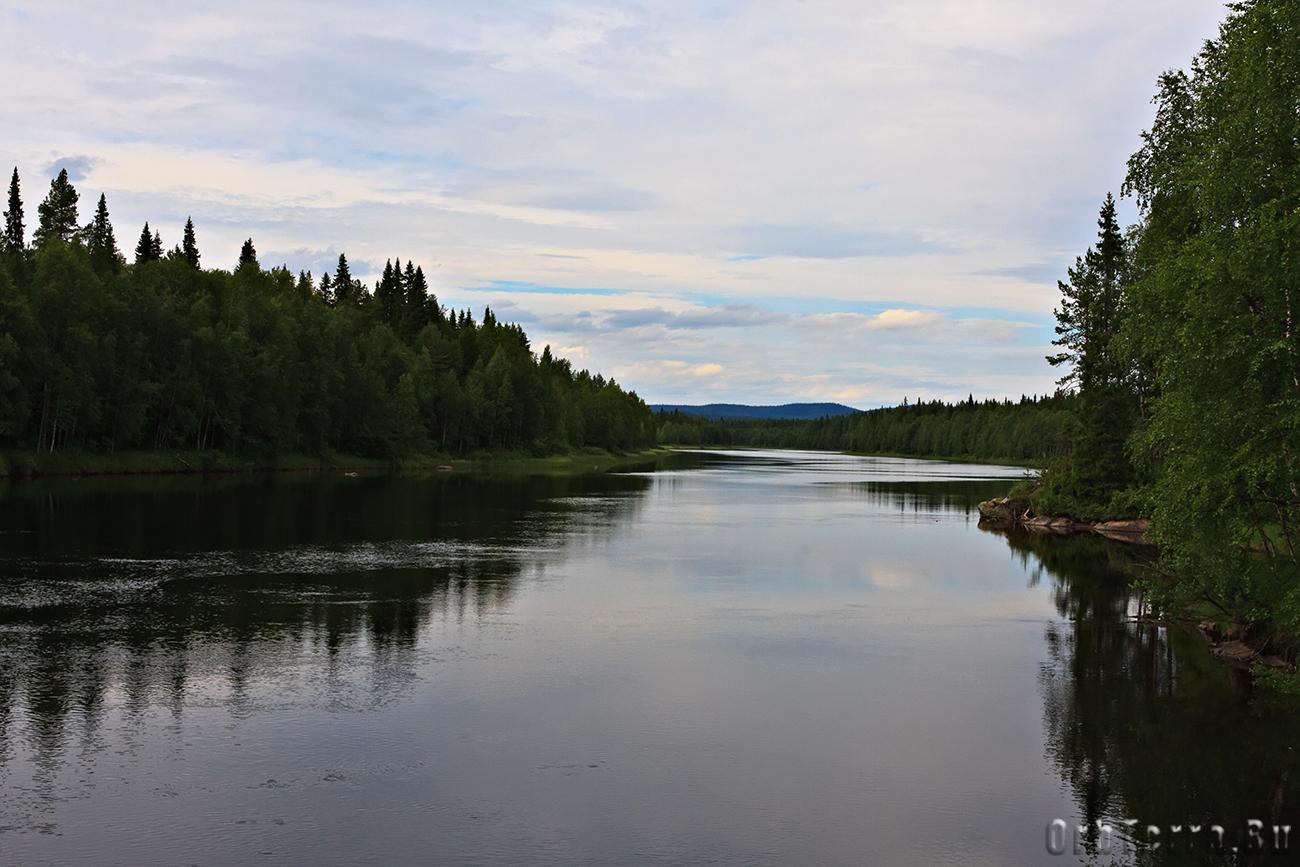 Река Оланга.