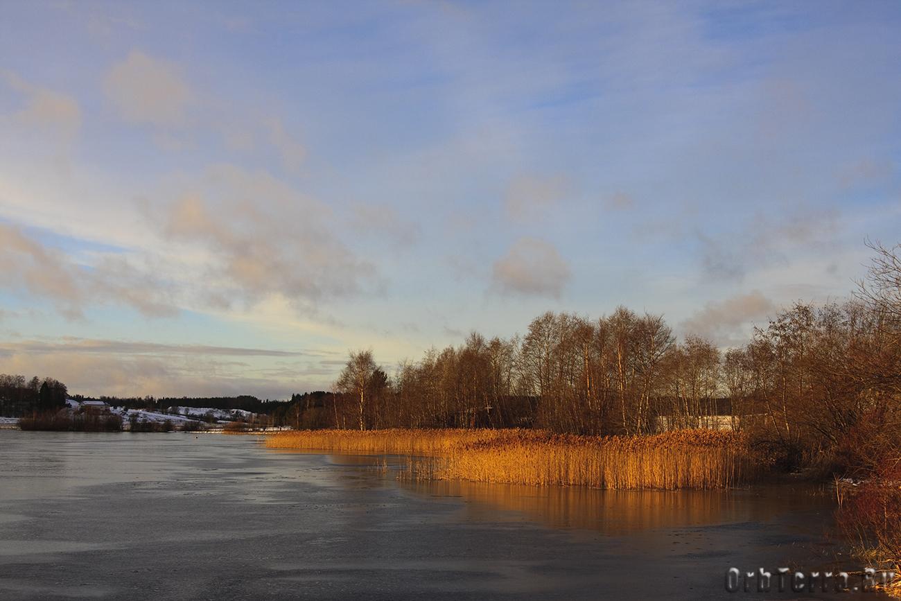 Озеро Курёсиярви