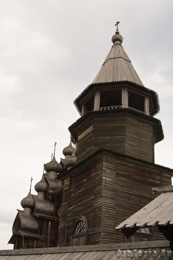 Колокольня Кижского погоста 1862 г.