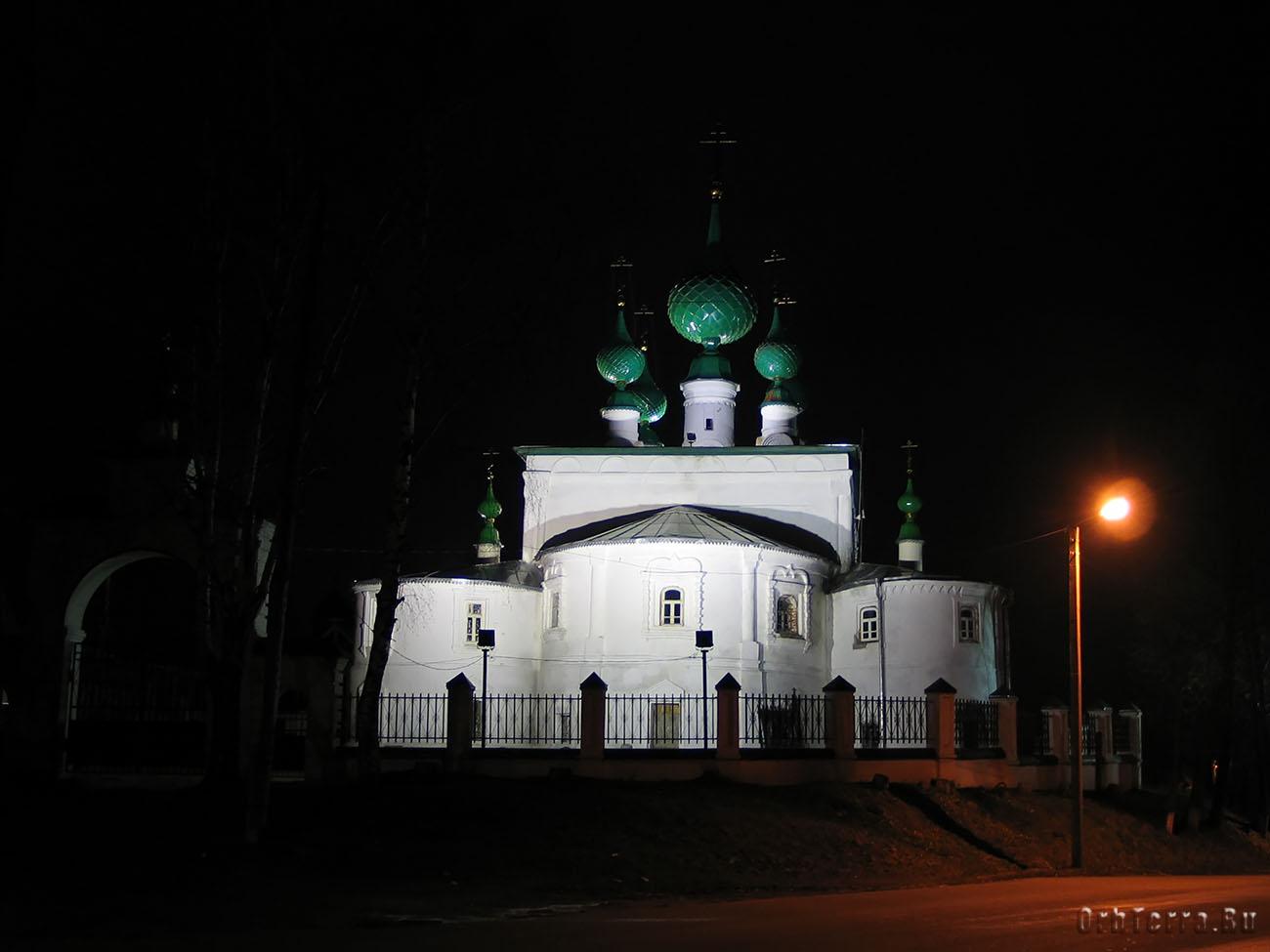 Спасо-Преображенская церковь (1694 г.).