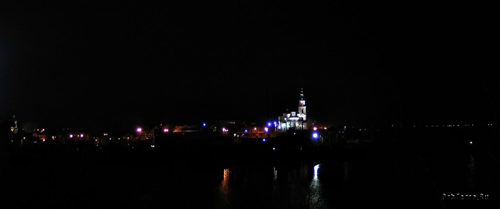 Вечерняя Кинешма.