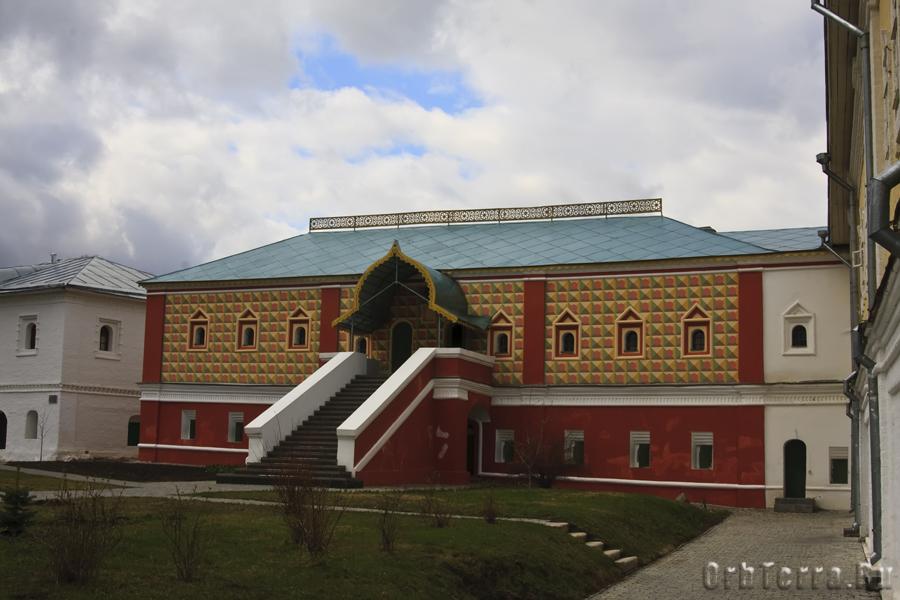 Палаты бояр Романовых.