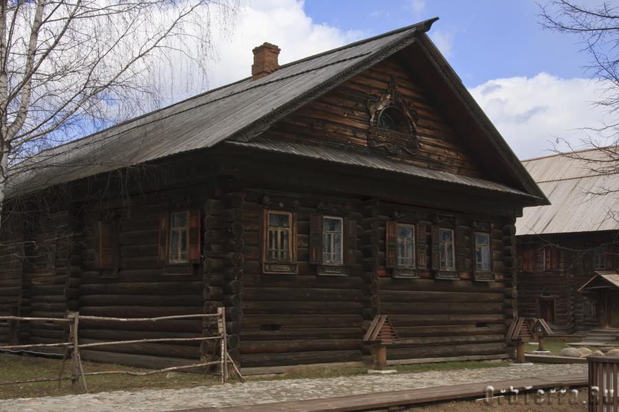 Дом Андриана Григорьевича Серова 1873 г.