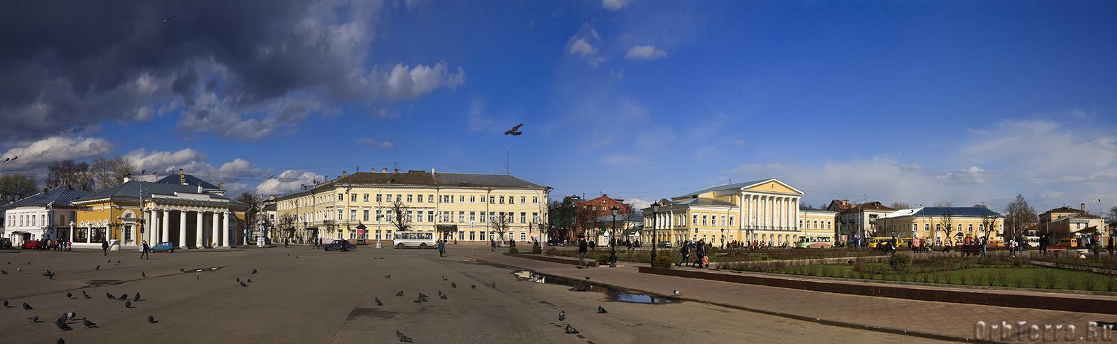 Кострома. Центральная площадь.