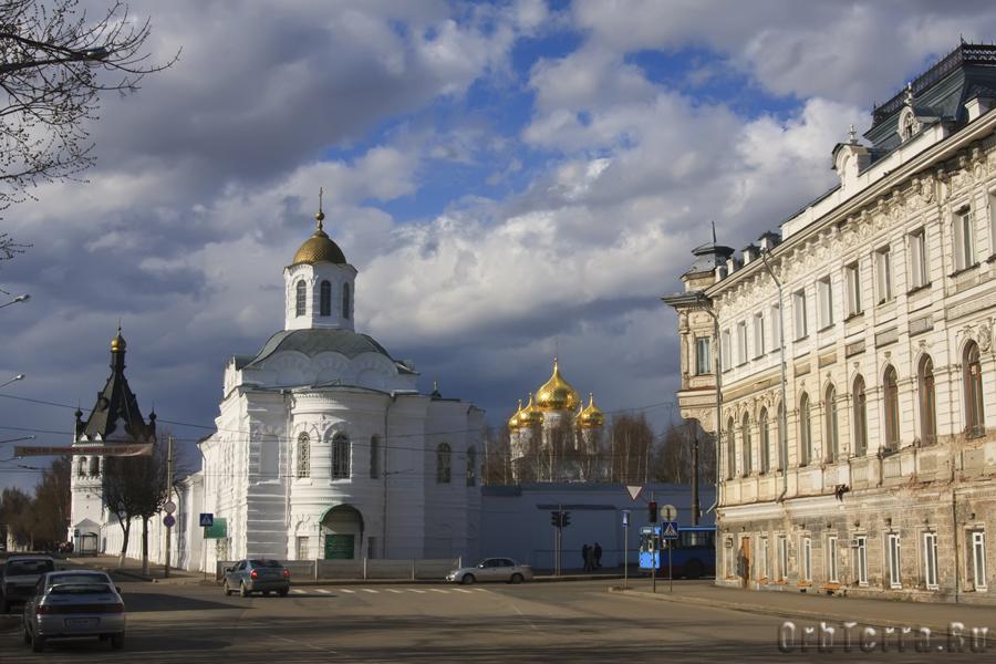 Вид на Богоявленско-Анастасиин женский монастырь 1426 г.