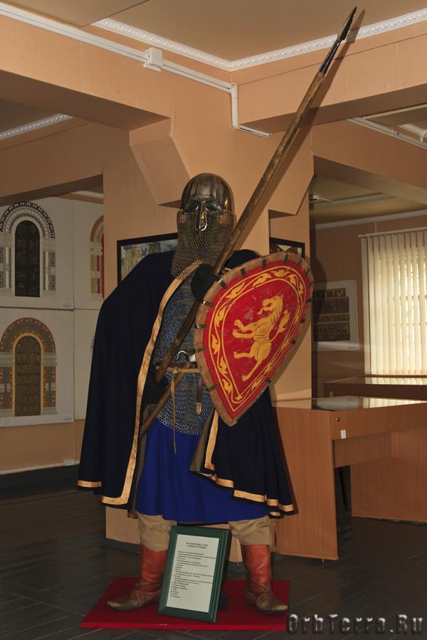 Русский воин XIII век.