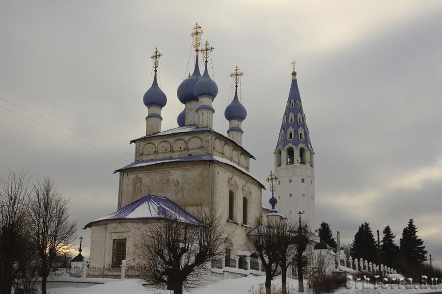 Крестовоздвиженский храм 1762-1774 гг.