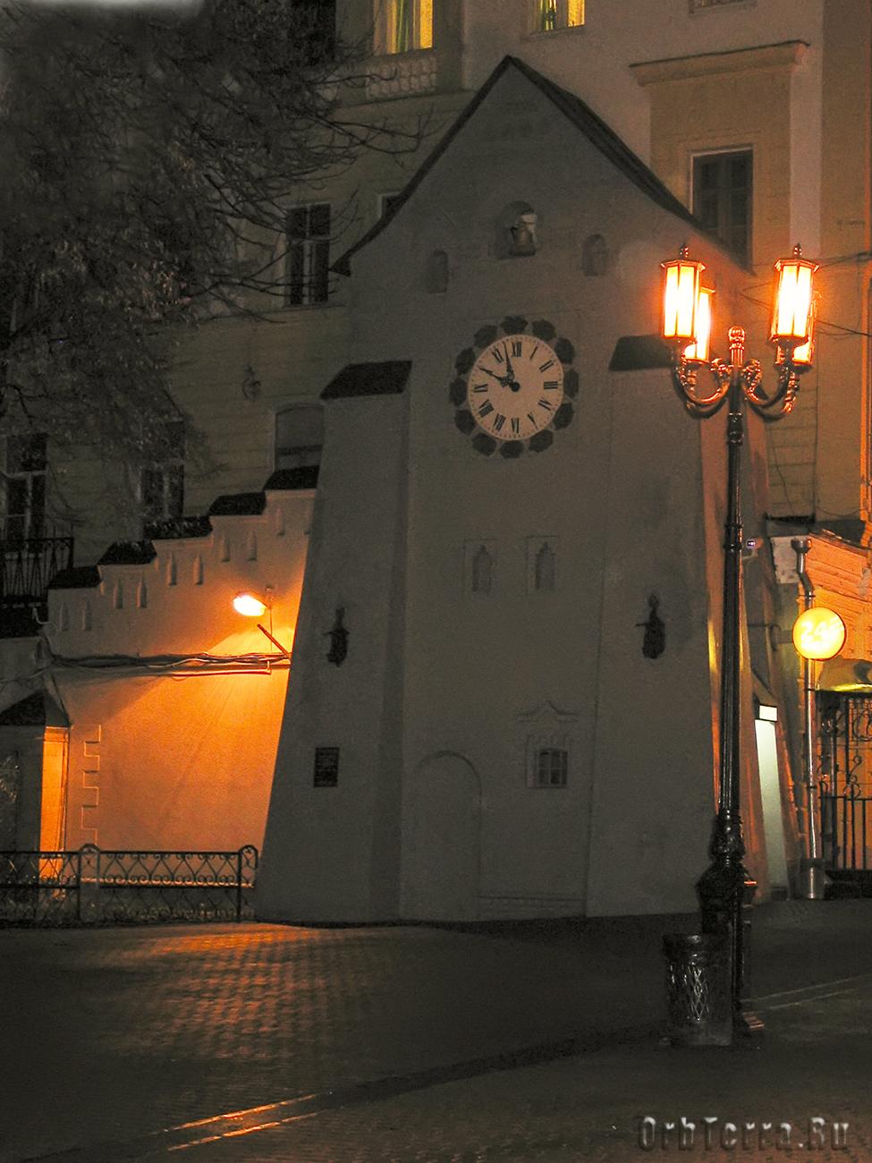 Башня с часами 1913 г.