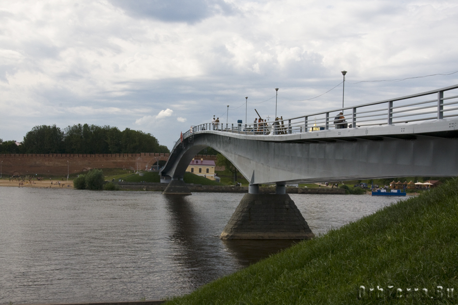 Мост через Волхов.