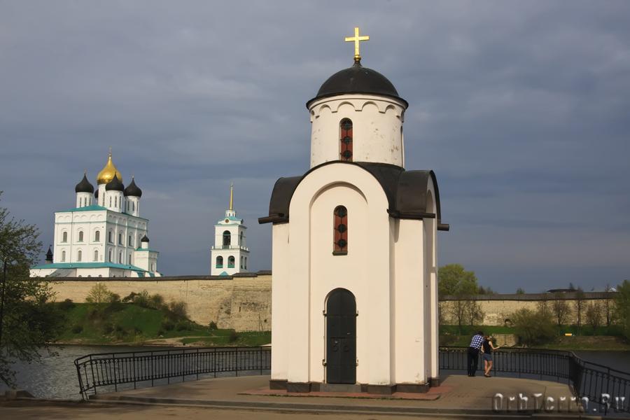 Часовня святой равноапостольной княгини Ольги.
