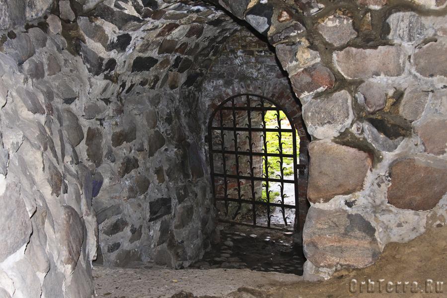 Когда то это был тайный подводный выход в Вуоксу.