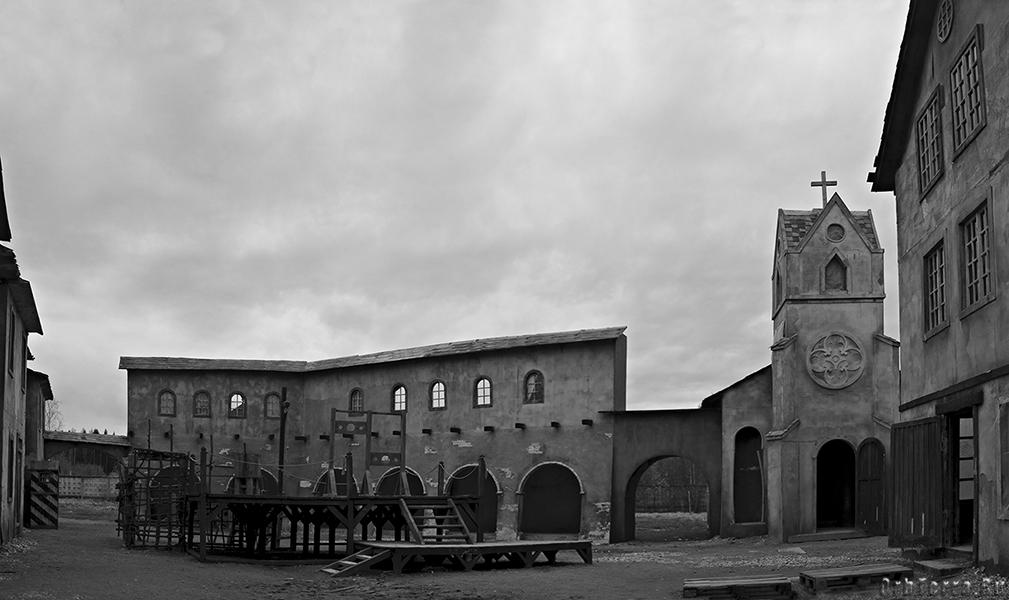 Тюремная площадь.
