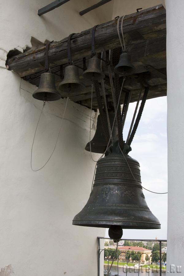 Колокола на Софийской звоннице.