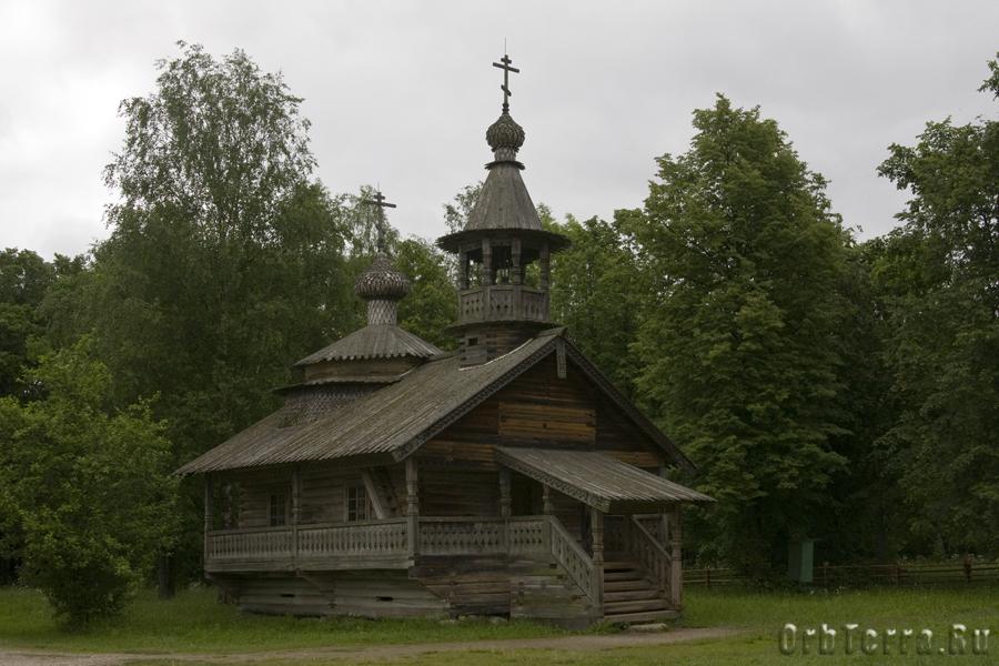 Часовня XVIII века,из деревни Кашира Маловишерского района.