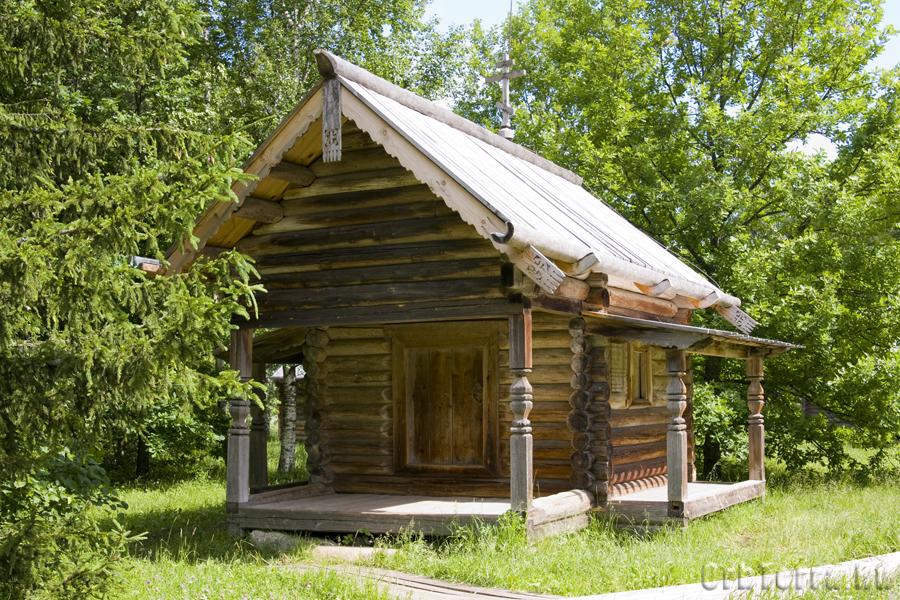 Житница Смирнова из деревни Борхино Пестовского района.
