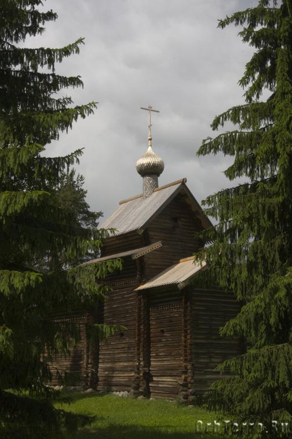 Церковь Николы 1688 года из деревни Тухоля Крестецкого района.