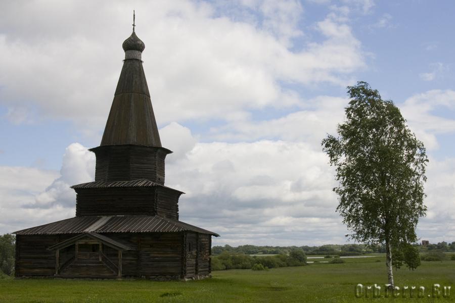 Церковь Успения 1595 года из села Курицко Новгородского района.