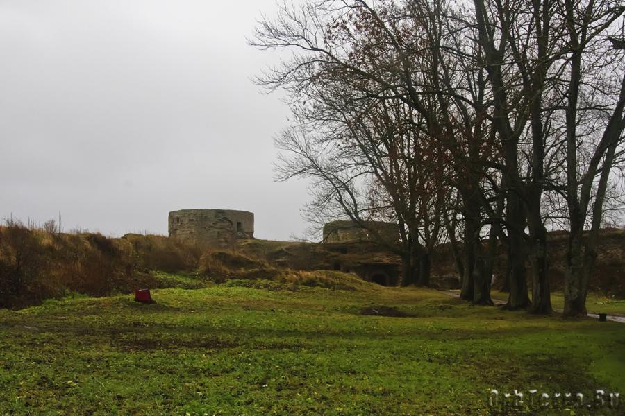 Внутренняя территория крепости.