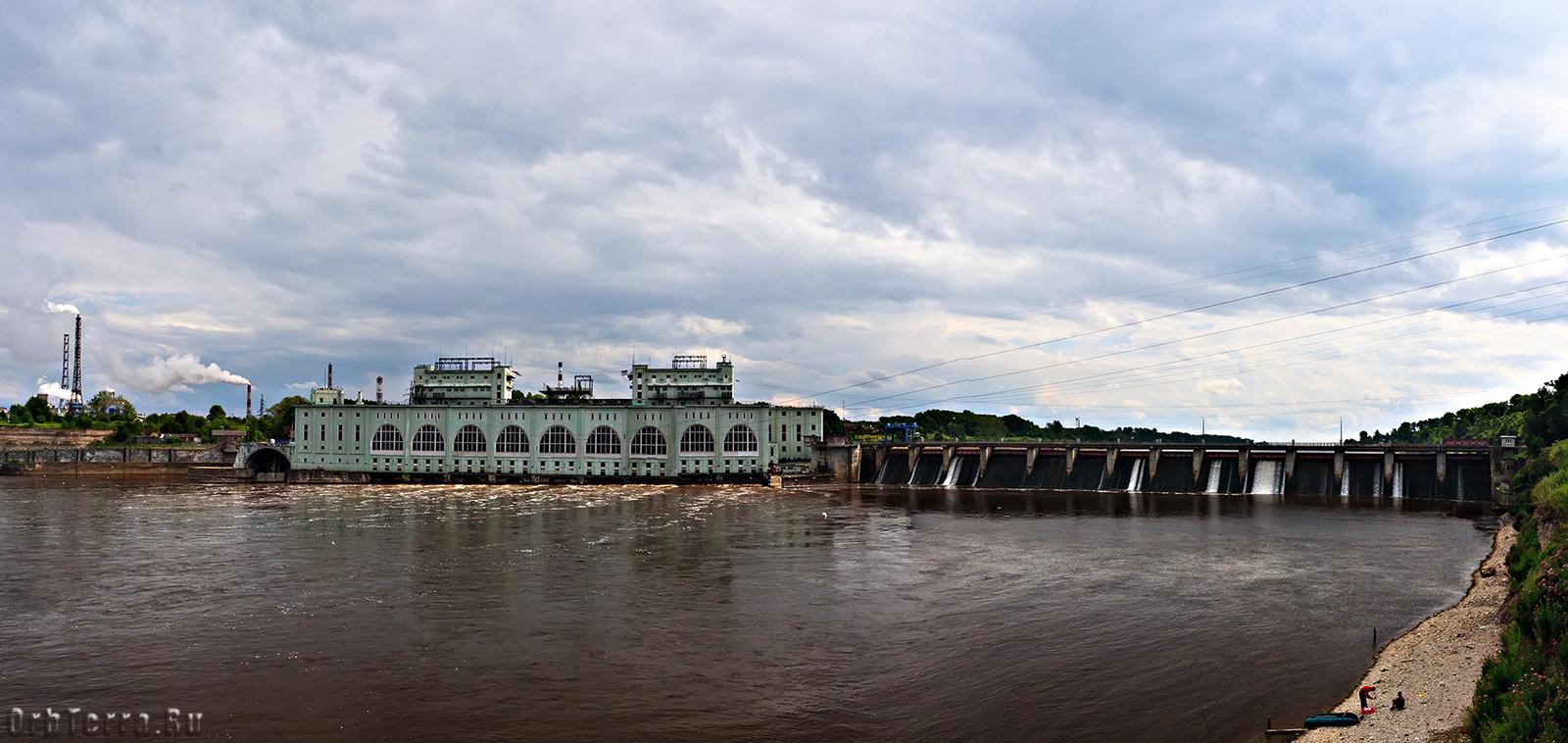 Волховская ГЭС 1915 г.