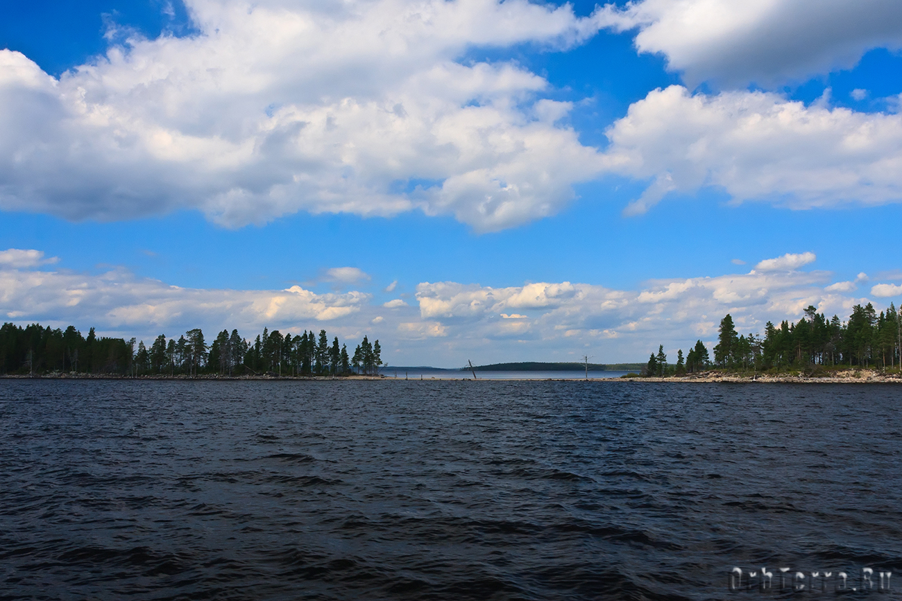 Озеро Куйто.