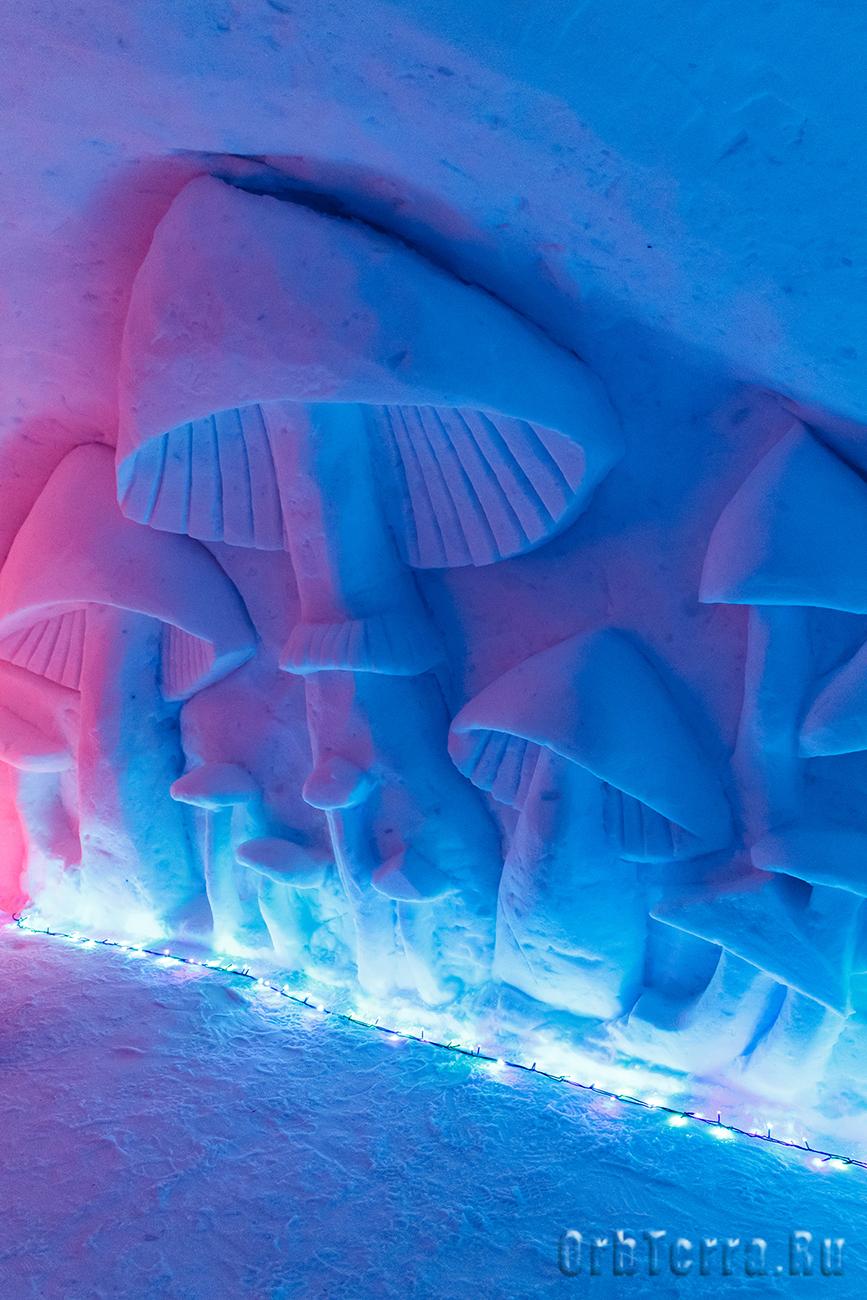Ледяной город.
