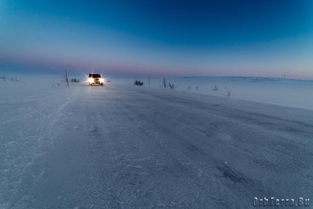 Дорога на Териберку.