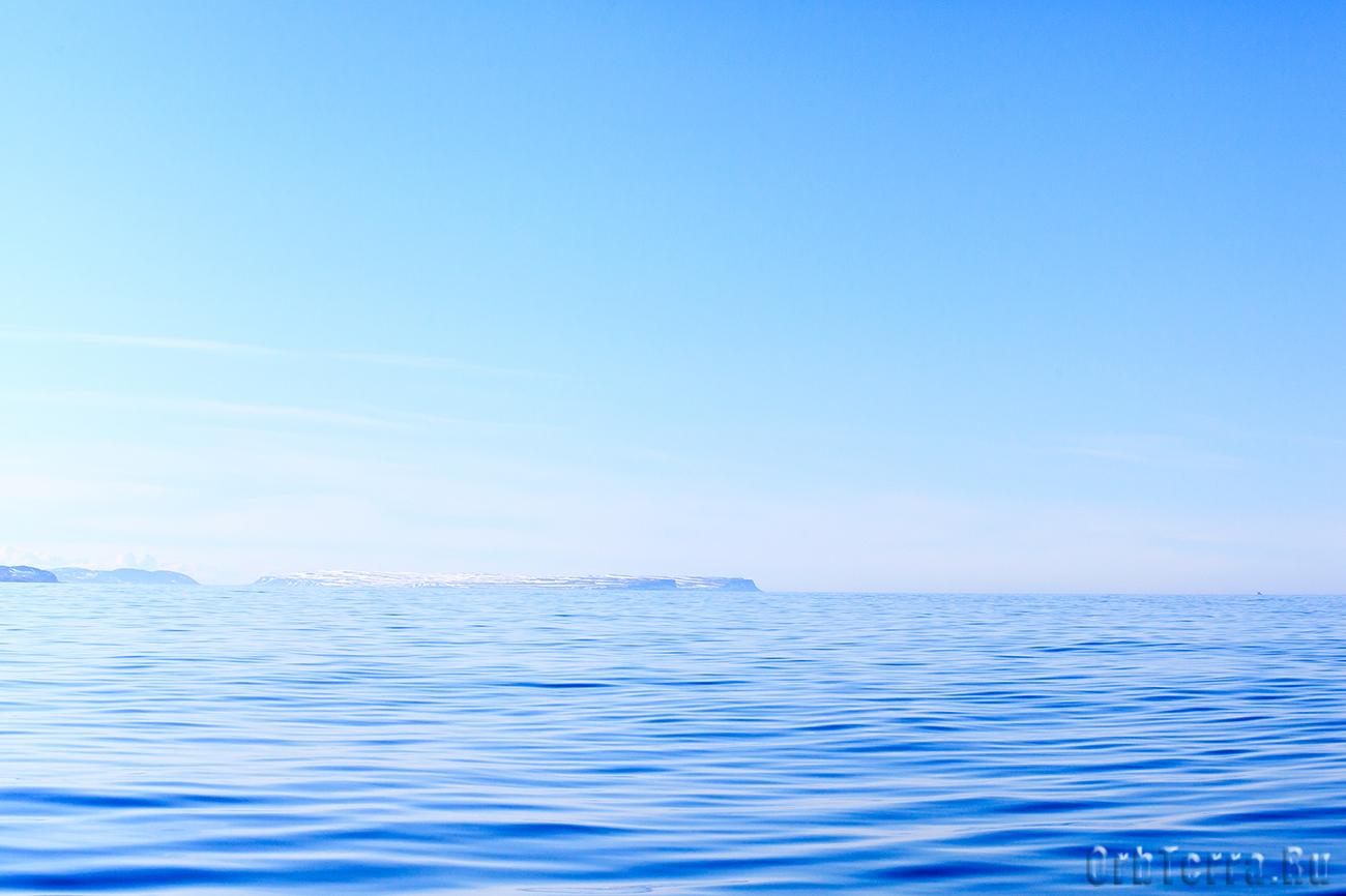 Выход в океан.