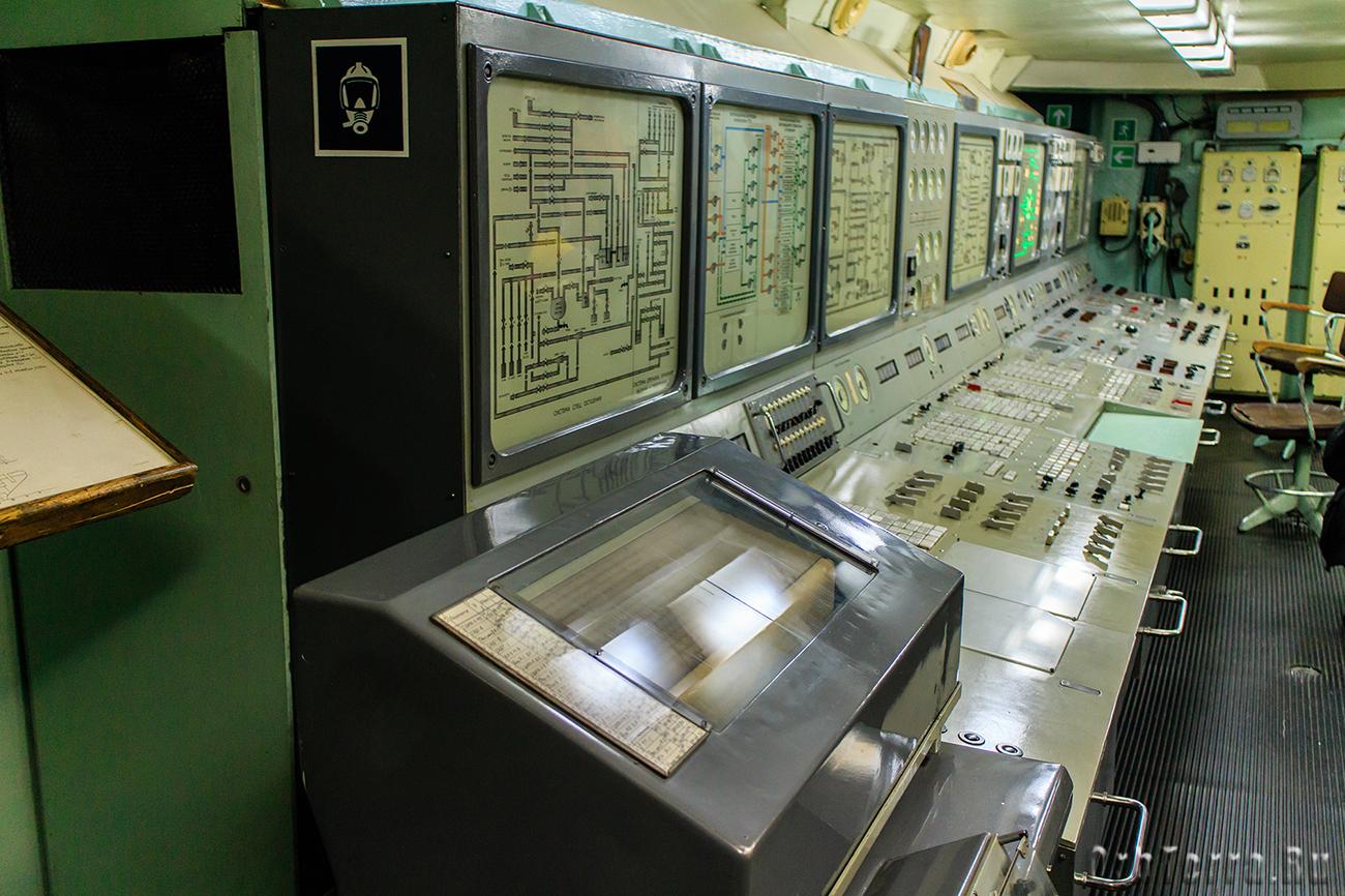 Система телеметрии и управления реакторами