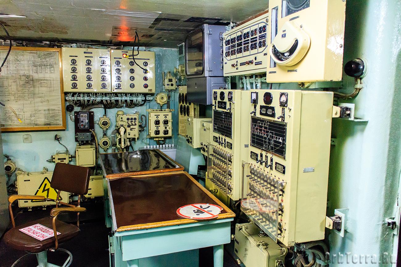 Пост управления системой электродвижения