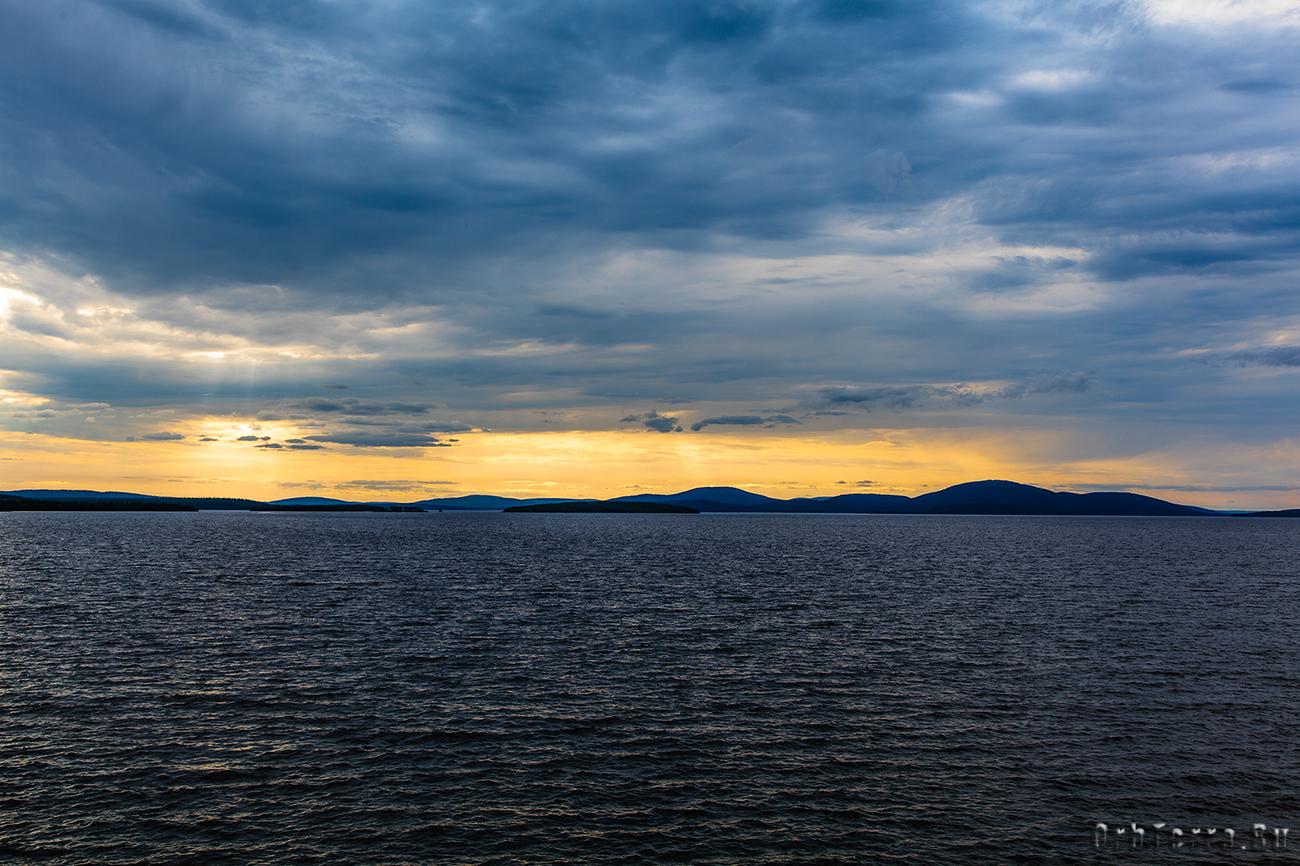 Озеро Бабинская Имандра. Губа Молочная.
