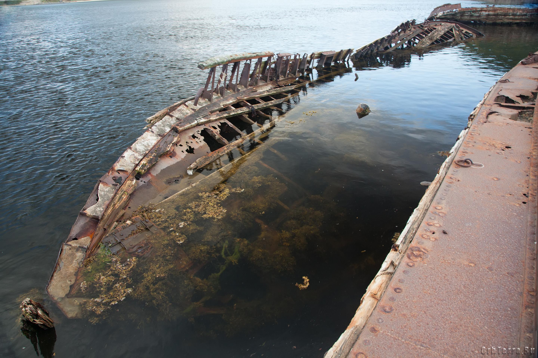 Териберка. Кладбище кораблей.