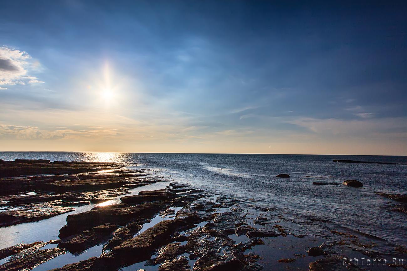 Баренцево море. Отлив.