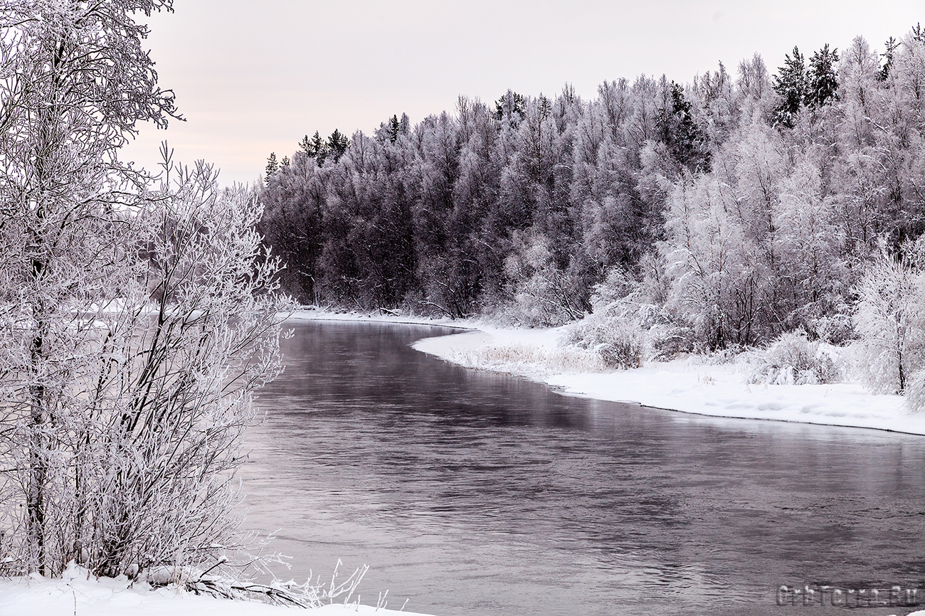 Река Нива.