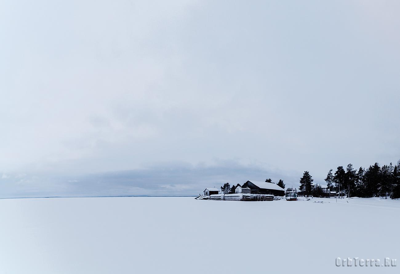 Калевала. Озеро Куйто.