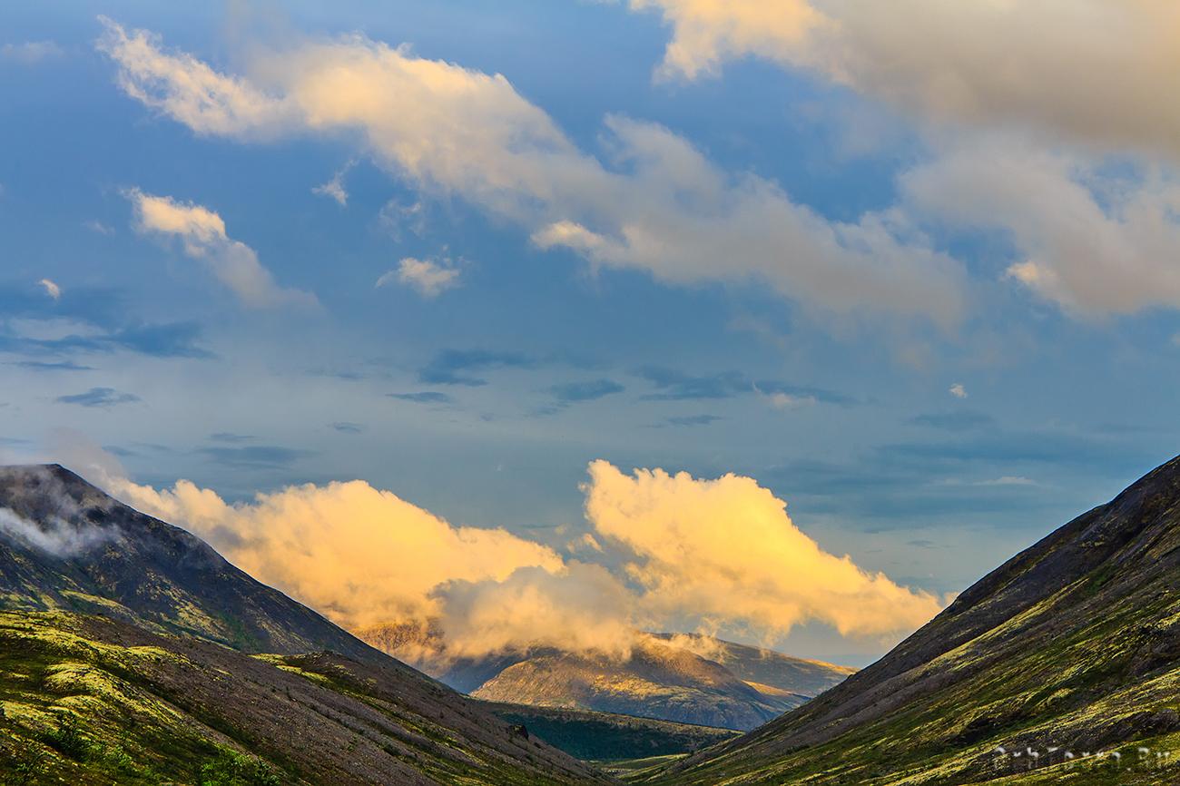 Вид с перевала Кукисвумчорр.