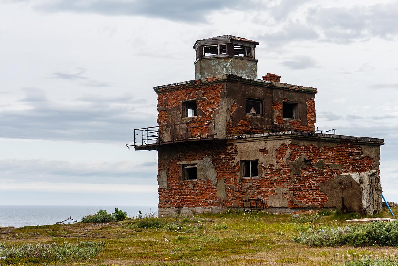 Мыс Немецкий. Старый маяк.