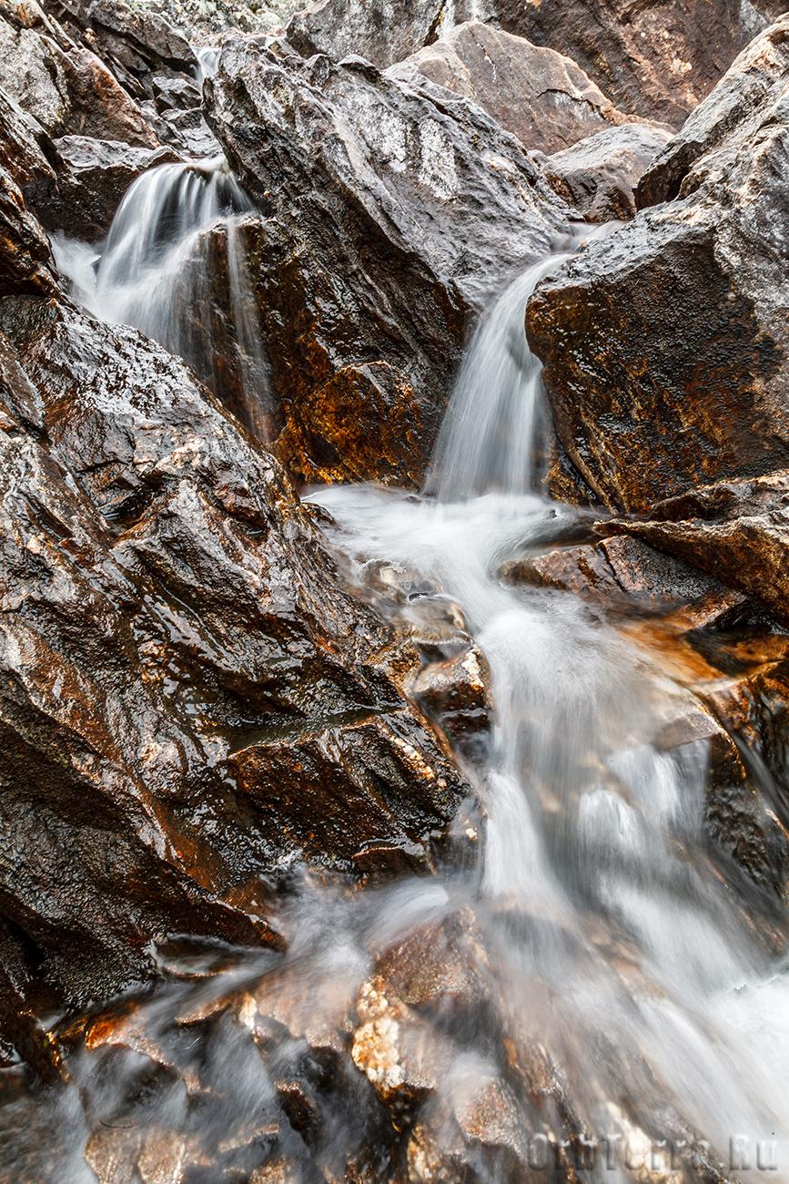 Водопад на Титовке.