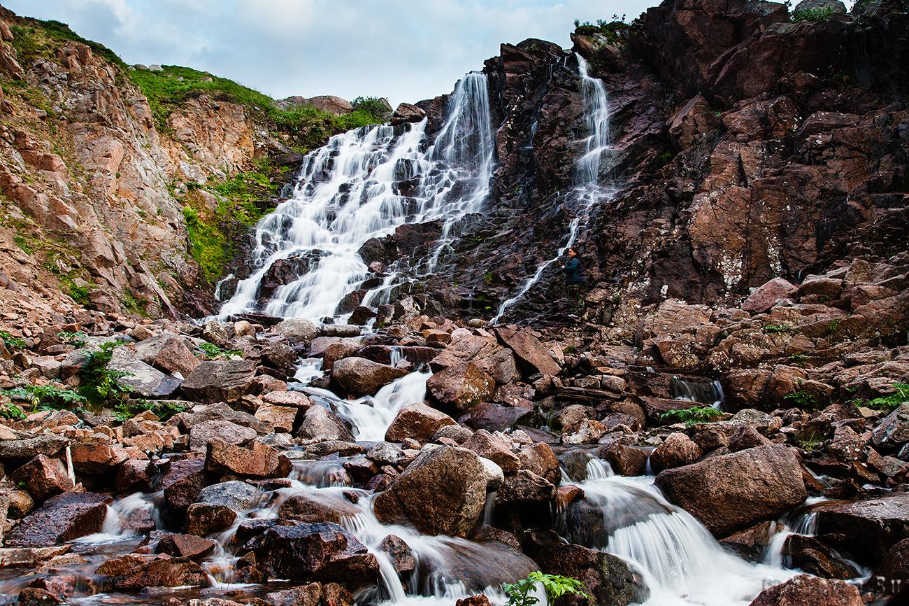 Водопад Батарейный.