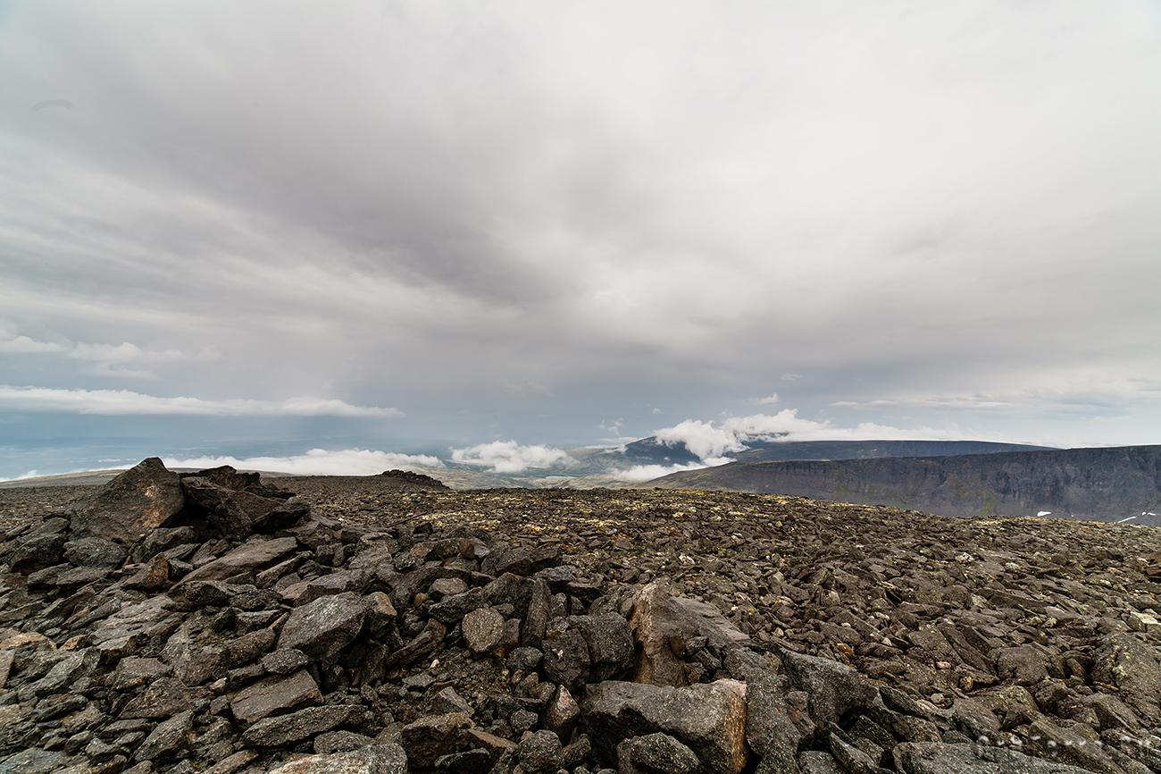 Гора Аллуайв.