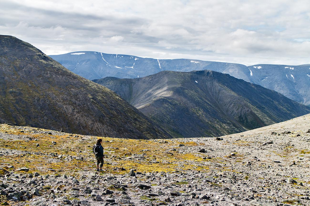 Хибины. Перевал Южный Рисчорр.