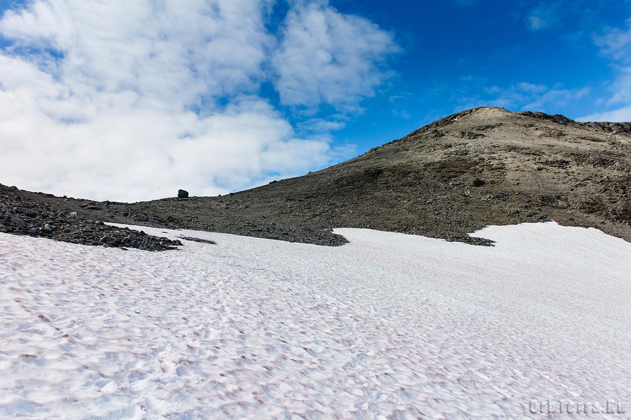 Перевал Южный Рисчорр. Восточный склон.